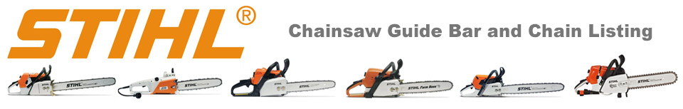 STIHL Chainsaw bars and Chains