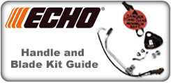 Echo Handle and Blade Kit Guide