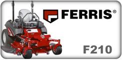 F210 Zero Turn Mower Parts