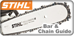 Stihl Chainsaw Bar and Chain Guide