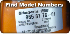 Find Your Model Number