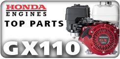 Honda GX110, 3.5 HP