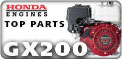 Honda GX200, 6.5 HP