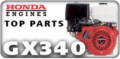 Honda GX340, 11 HP