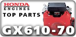 Honda GX610 and GX670