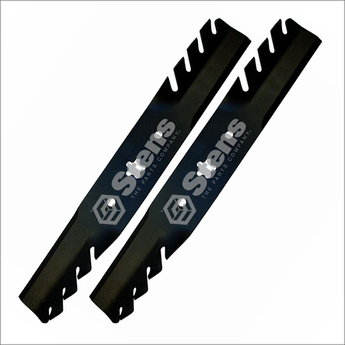 Set Of 2 Ayp Husqvarna 50 Quot Silver Streak Toothed Blade