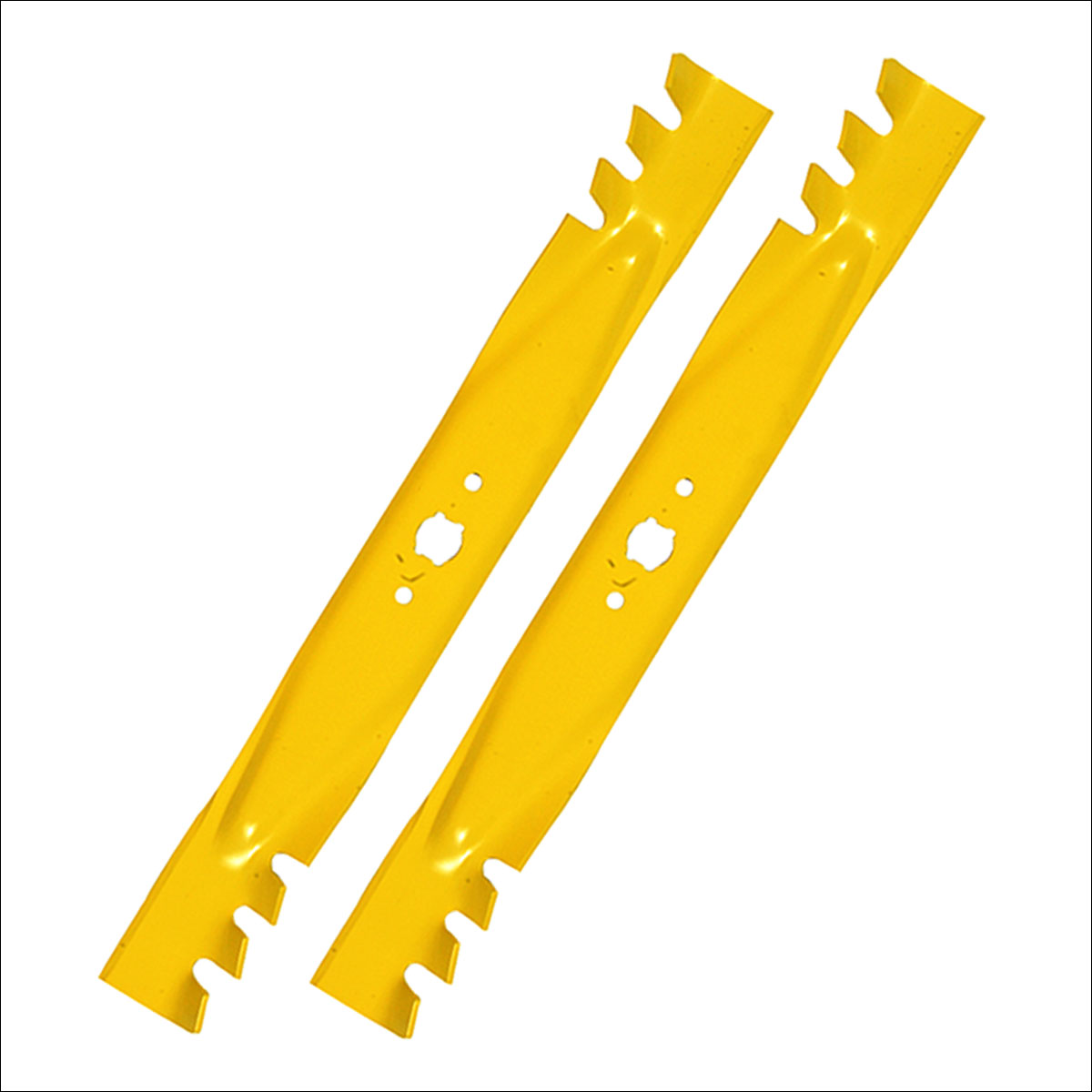 Mower Blades By Size : Pack cub cadet quot mulch blades for push