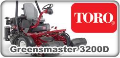 Toro Greensmaster 3200D