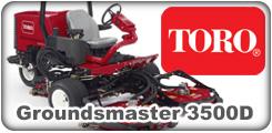 Toro Groundsmaster 3500D