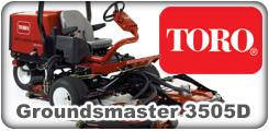 Toro Groundsmaster 3505D
