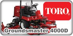 Toro Groundsmaster 4000D