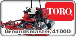 Toro Groundsmaster 4100D