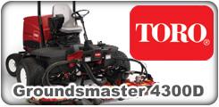 Toro Groundsmaster 4300D
