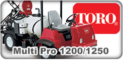 Toro Multi Pro 1200 and 1250