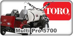 Toro Multi Pro 5700