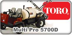 Toro Multi Pro 5700D