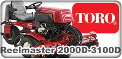 Toro Reelmaster 2000D, 2300D, 26000D and 3100D