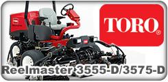 Toro Reelmaster 3555-D and 3575-D