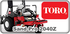 Toro Sand Pro 2040Z