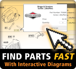Find Parts Fastby Model or Part Number