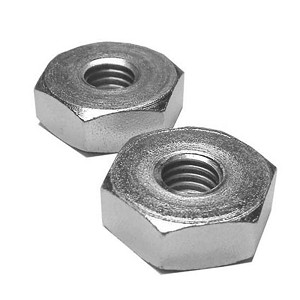 2 Pack of Chainsaw Bar Nuts For Stihl 0000-955-0801, 00009550801 - Aftermarket