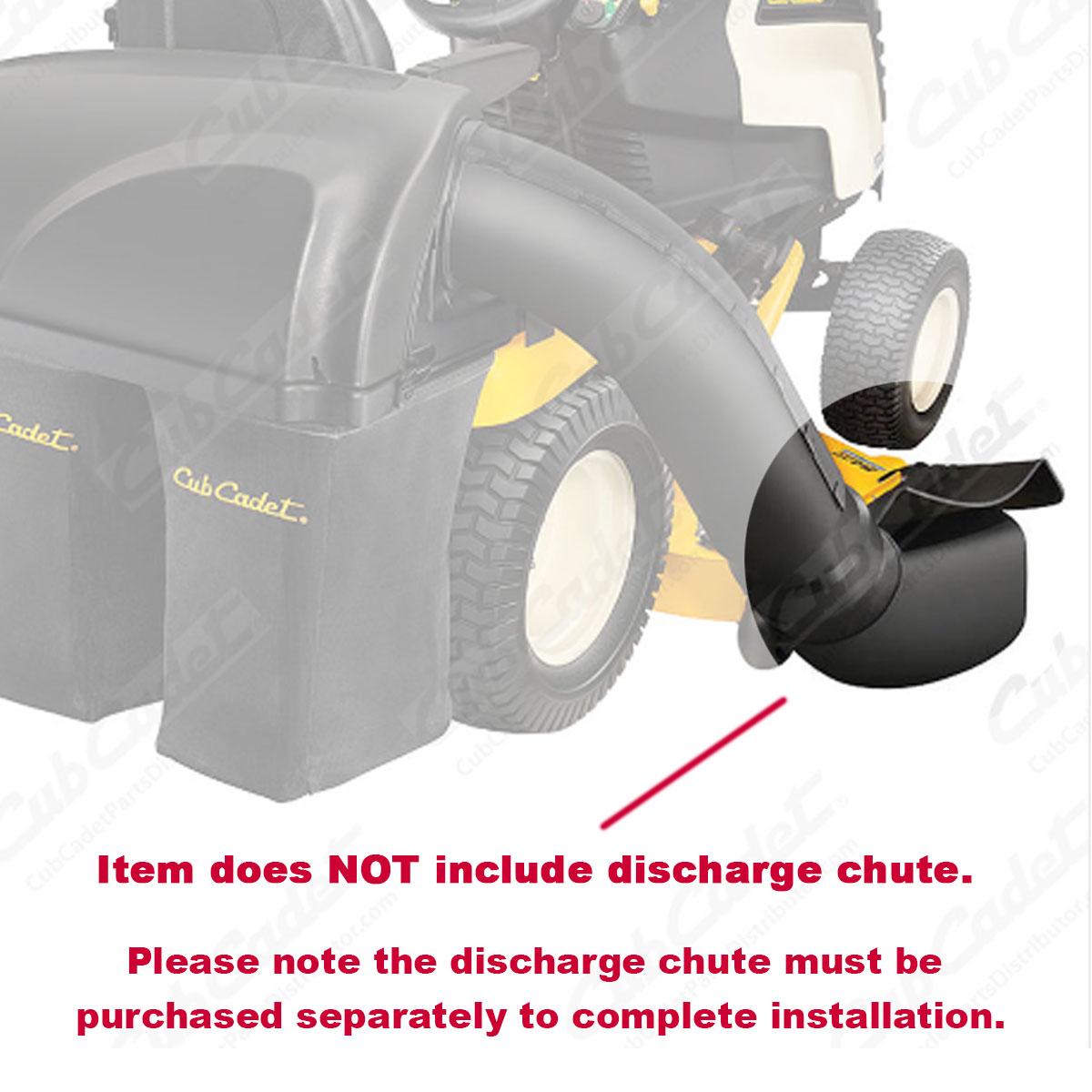 Cub Cadet Garden Tractor Triple Bagger Components 19A40004100