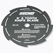 ECHO 8-Tooth Grass and Weed Blade (20mm Arbor)