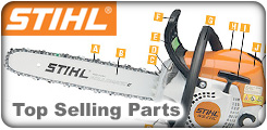 Chainsaw Top Selling Parts by Model