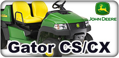 John Deere Gator CS and CX