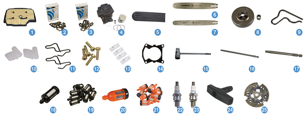 STIHL MS 201 T Chainsaw Parts Reference Guide | Power Mower