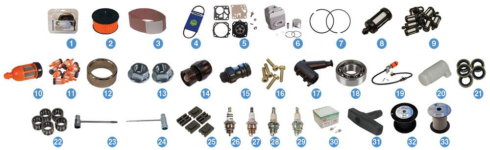 Zündkerze Bosch WSR6F passend für Stihl TS 460 TS460 Spark plug