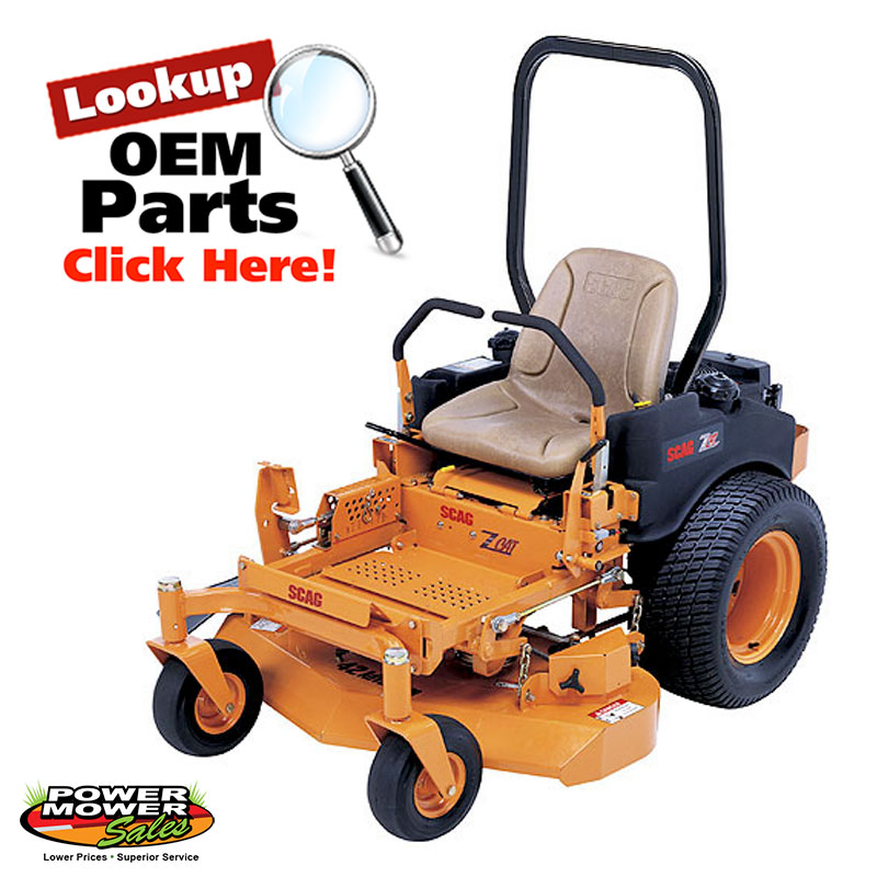Scag Z Cat Riding Mower Parts | Power Mower Sales
