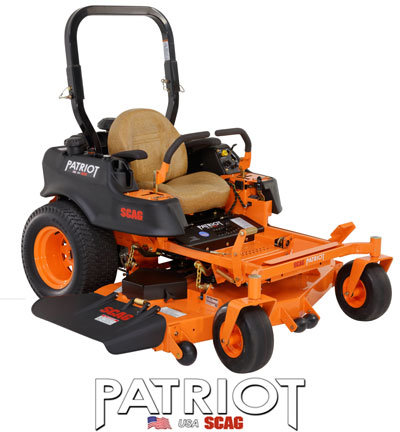 Scag Patriot Riding Mower Parts