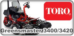Toro Greensmaster 3400 and 3420