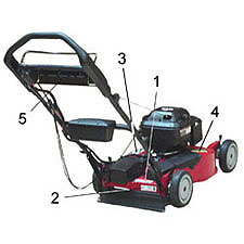 Toro Walk Power Mowers - Lawnmower, Rotary Walk-Behind