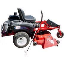 Toro Riding Mowers - Rider, Z Master & TimeCutter - Right Side