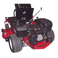 Toro Riding Mowers - Rider, Z Master & TimeCutter - Rear