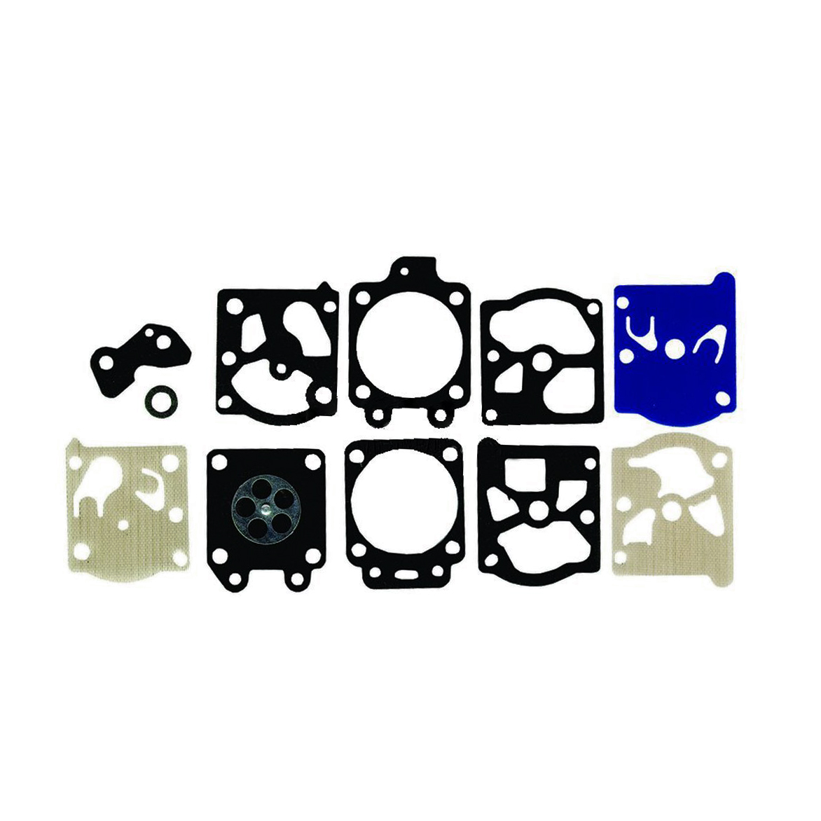Walbro Carburetor Gasket & Diaphragm Kit D20-WAT / Fits Poulan WT-628-1 WT-629-1 WT-369-1 & Other Chainsaw Carburetors