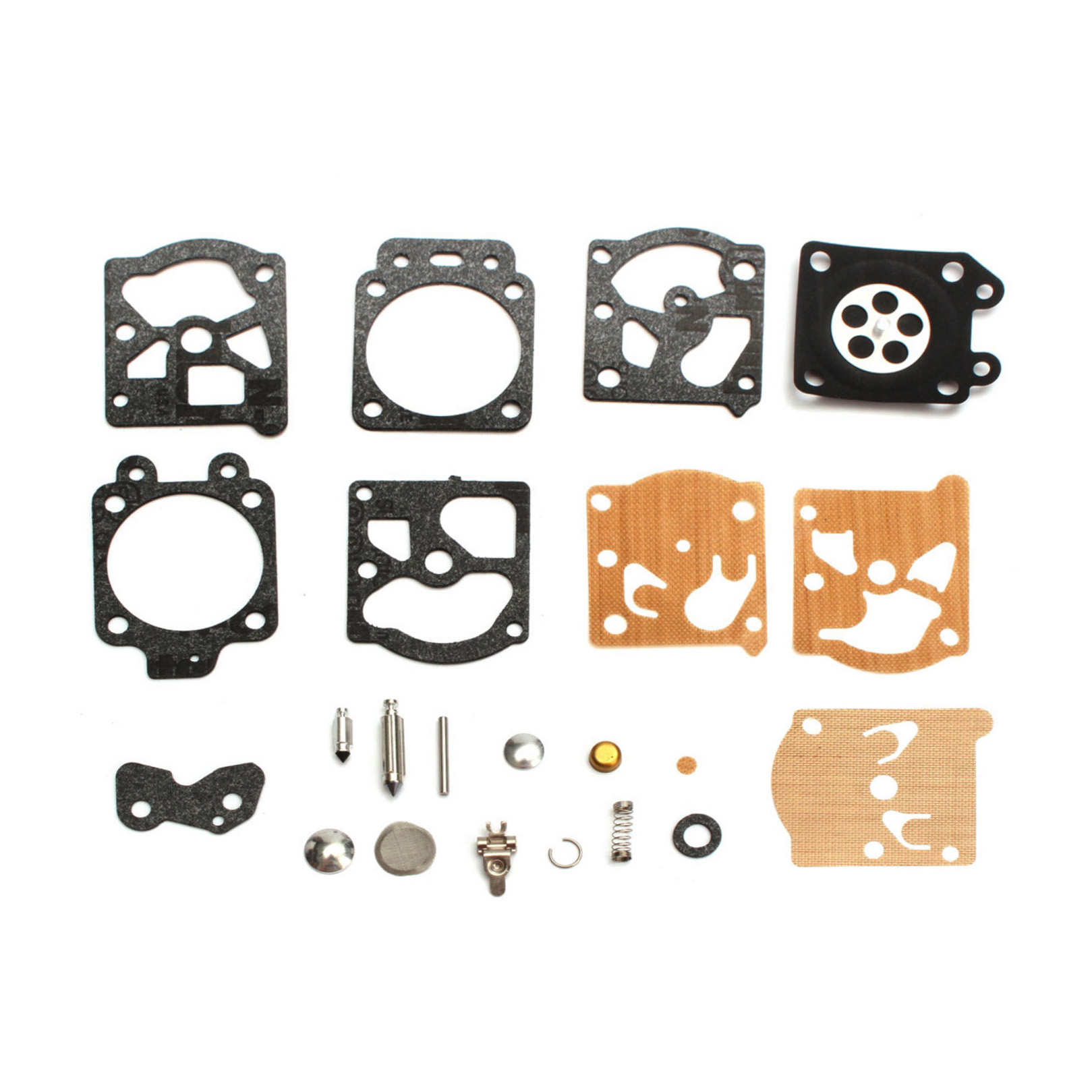 Walbro Carburetor Repair Kit / Fits Poulan WT-628-1, WT-629-1, WT-639-1 & Other Chainsaw Carburetors K20-WAT