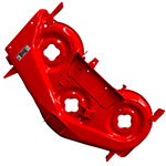 Cub Cadet Deck Shell (50 inch) MTD/Troy Bilt Red 903-04328C-0638