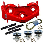 Cub Cadet RZT 50 inch Red Deck Kit 903-04328C-0638 903-04328C-0638-KIT