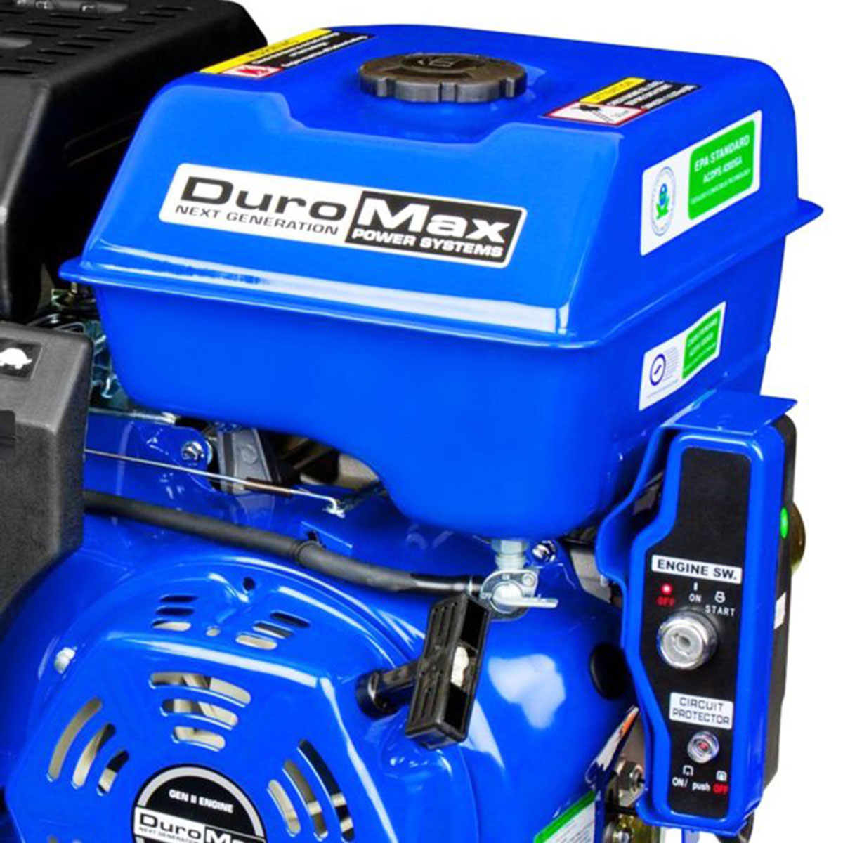 DuroMax XP16HPE 16 Hp , 1'' Shaft, Recoil/Electric Start Engine