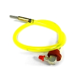 5101217 Ferris Fuel Hose Assembly, 20in. (Includes clamp & filter)