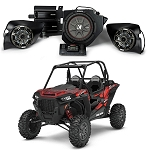Kicker Phase 3 Complete Custom Sound System for Polaris RZR 1000, XP Turbo, S900 - 44PRZ33
