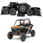 Kicker Phase 5 Complete Custom Sound System for Polaris RZR 1000, XP Turbo, S900 - 44PRZ35