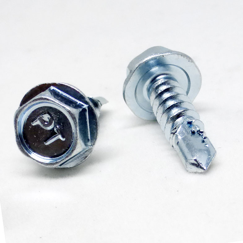100 Hex Head Self Tapping Screws 10x12mm 5 16 Quot Washer