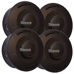 STIHL 4002-710-2191 Replacement Trimmer Head 4 Pack - IDENTICAL TO OEM!