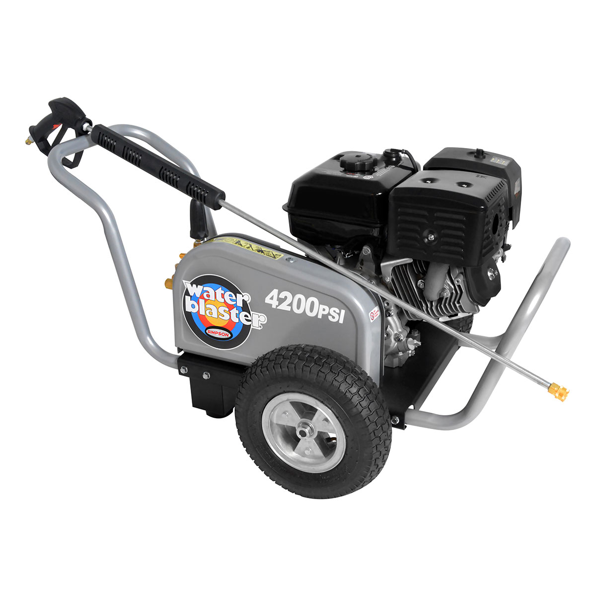 4200 PSI Water Blaster Series - Commercial Belt Drive Pressure Washer with a Honda GX 390 engine and a 50' hose - WB4200