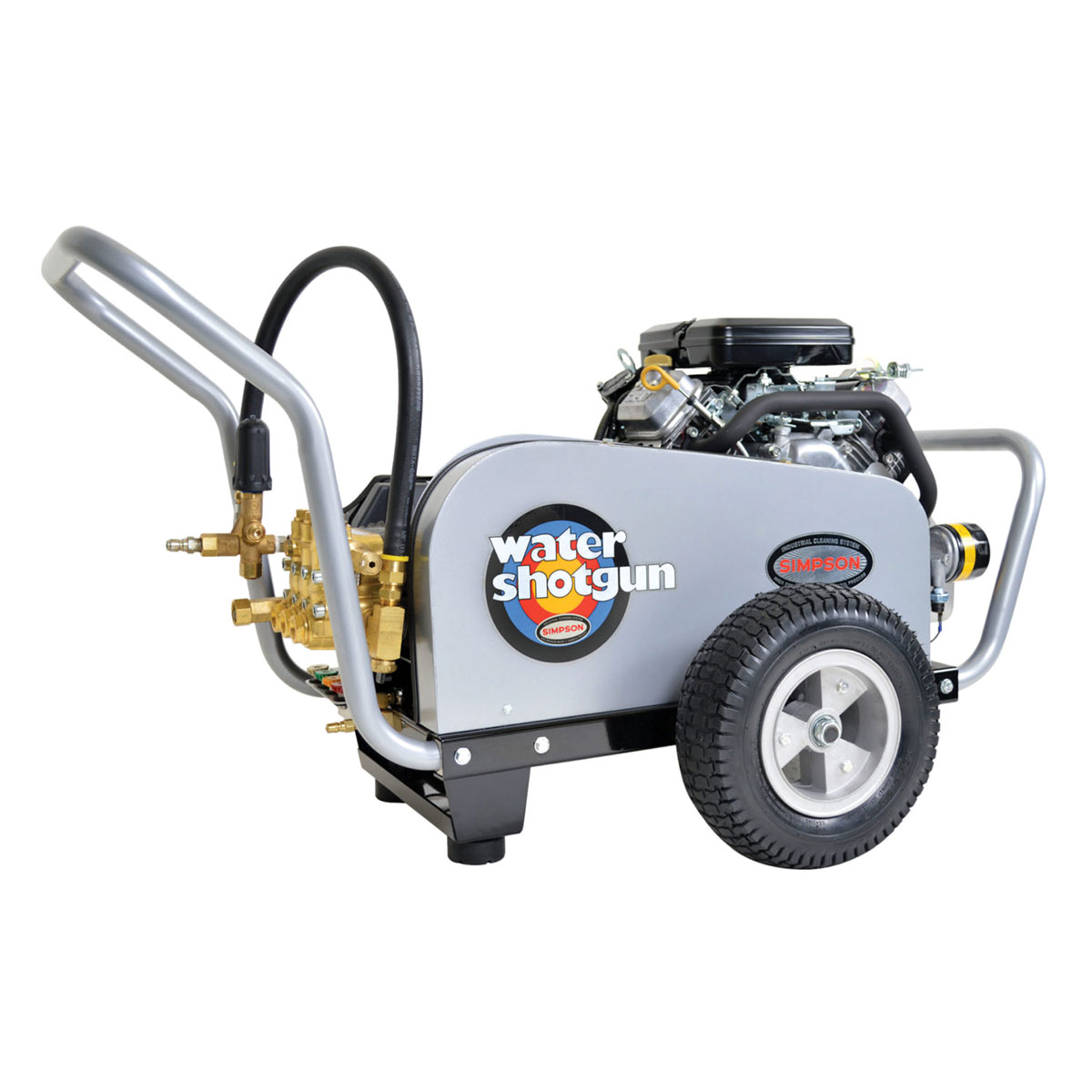 4000 PSI Water Shotgun Series - Industrial Belt Drive Pressure Washer with a Vanguard - Electric Start engine and a 50' hose - WS4050-V