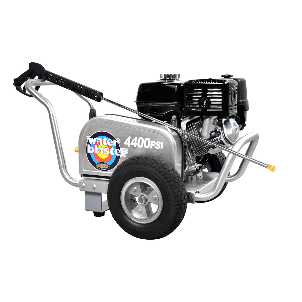4400 PSI Aluminum Series - Commercial Direct Drive Pressure Washer with a SIMPSON 420 engine and a 50' hose - ALWB60825